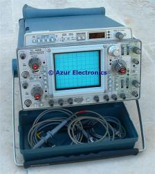TEKTRONIX 468/2/5/12 OSCILLOSCOPE, DIG. STRG., 100 MHZ, 2 CH., OPT. 2/5/12